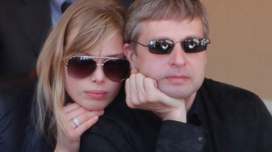 Dmitry and Elena Rybolovlev in 2012. (Getty)