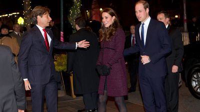 The Royals landed at JFK airport before they enjoyed a private dinner together. (AAP)