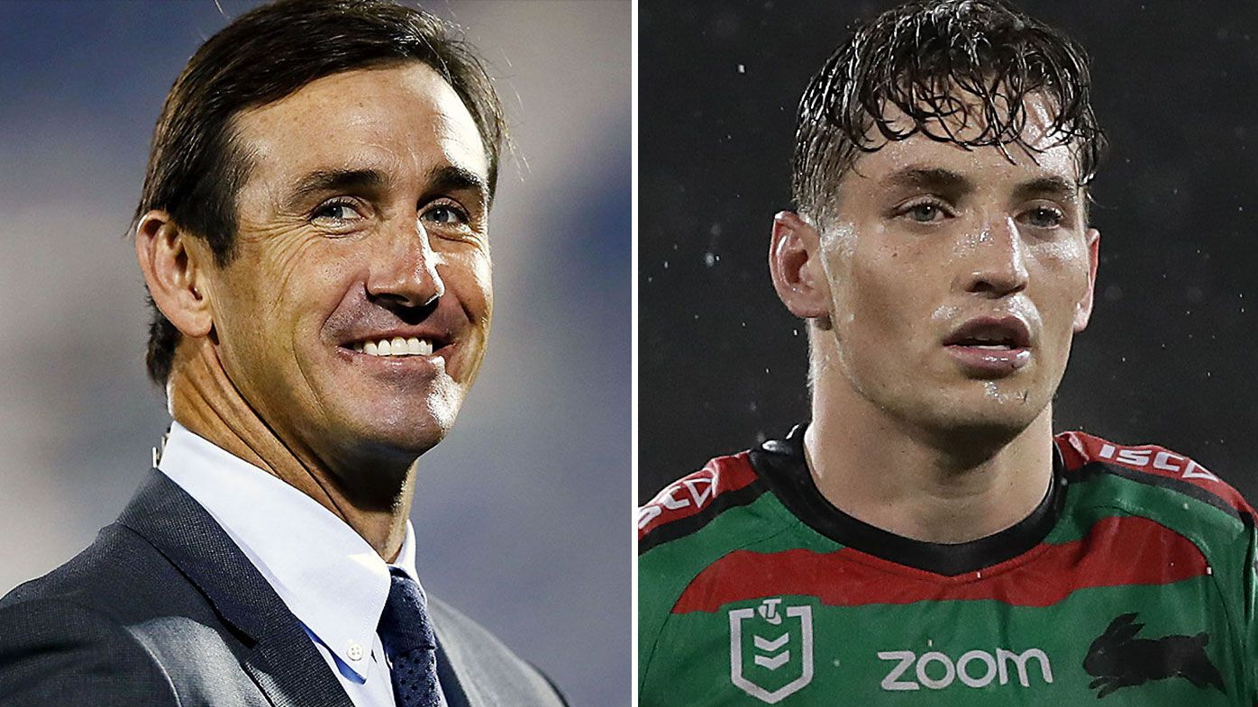 Andrew Johns' hilarious update on budding bromance with Souths star Cameron Murray