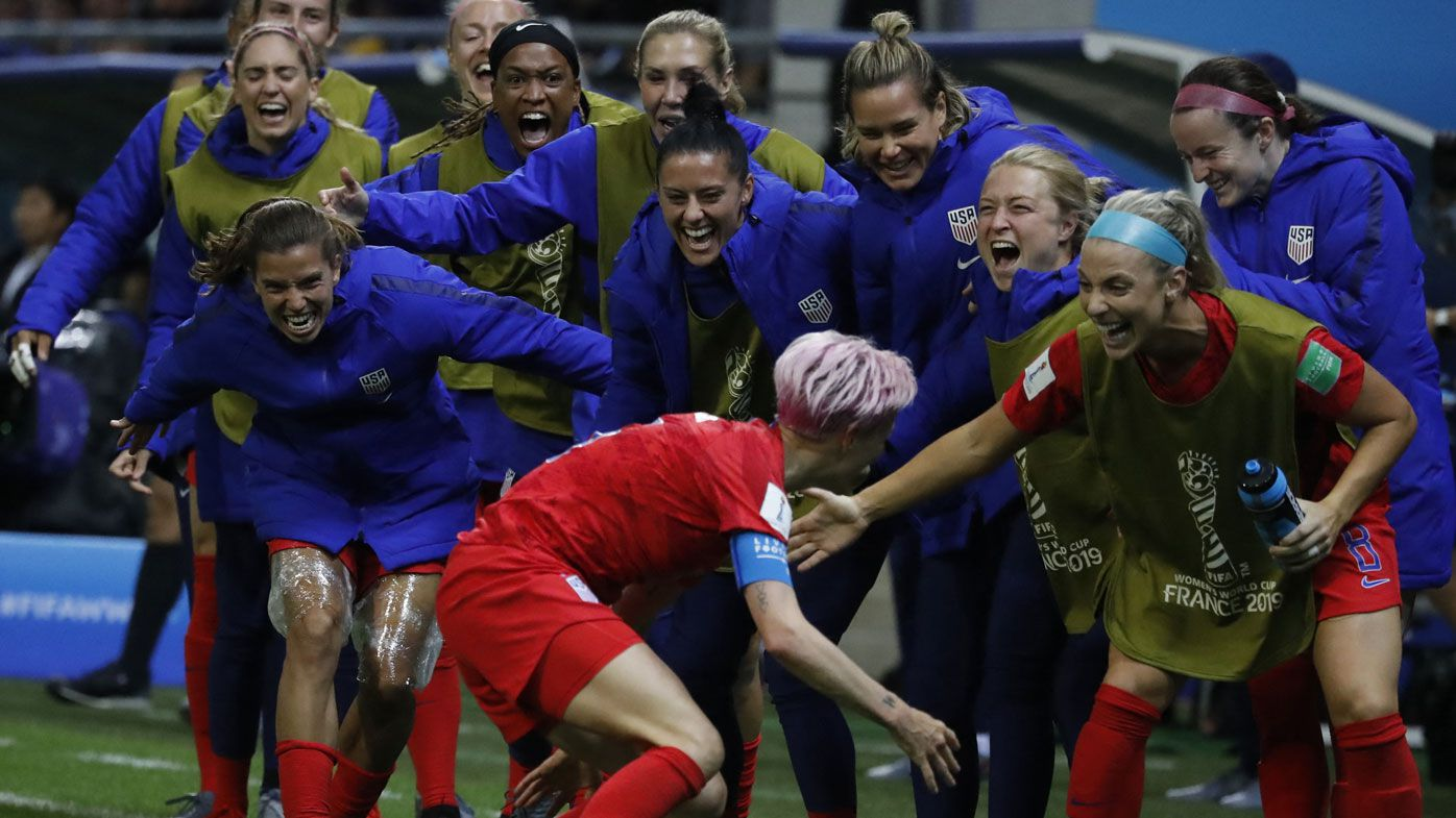 Why USA's celebrating 'villains' are PR gold for Women's World Cup