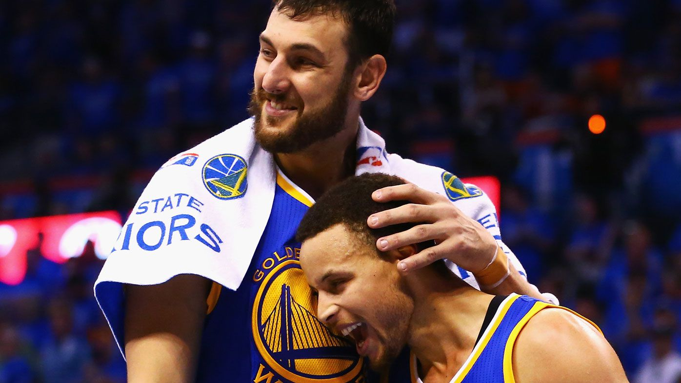 Steph Curry excited by possible Andrew Bogut NBA return with Golden State