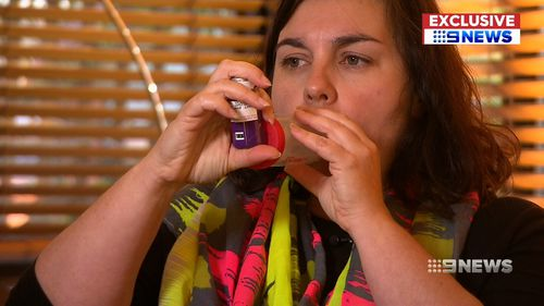 She believes it will provide huge benefits for asthma sufferers in the future. (9NEWS)