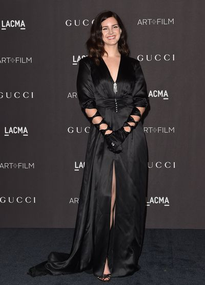 Singer Lana Del Rey at the 2018 LACMA Art + Film Gala in Los Angeles, November, 2018