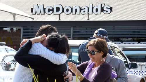Police confirm McDonald's shooter was serving a domestic violence order