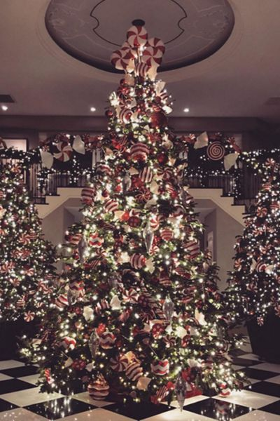 Kris Jenner's Christmas Wonderland.