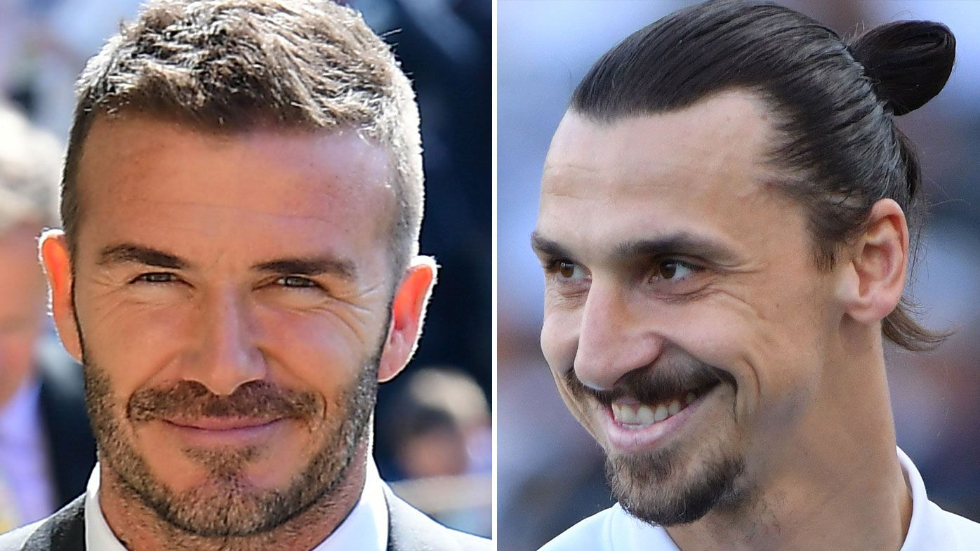 David Beckham Zlatan Ibrahimovic