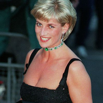 Princess Diana at a Tate gala, July 1997.