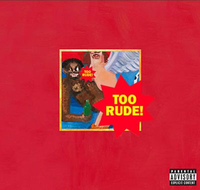 Kanye said he wanted to release an album with a cover that would be banned. Mission accomplished!