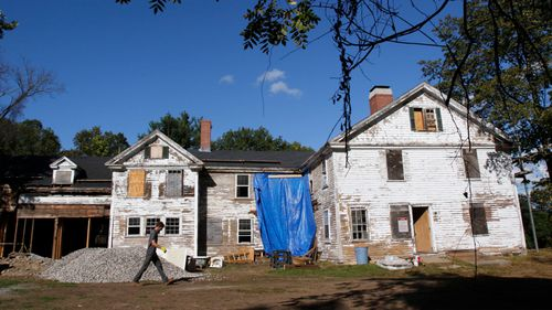 A history group has organised the renovation of the home linked to the Salem witch trials (Associated Press)