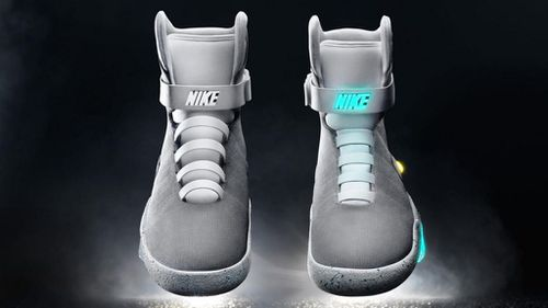 Nike first designed the shoes for Back to the Future II which was released in 1989. (Nike)