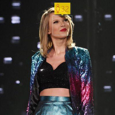 <p>Taylor Swift, 25</p>