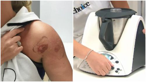 A number of Thermomix users suffered burns after using the appliance. (9NEWS)