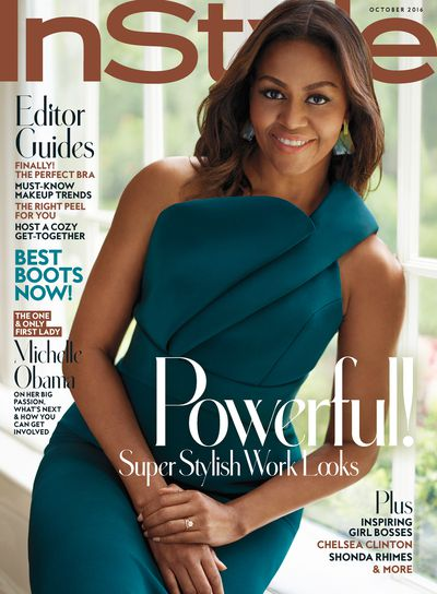 Michelle Obama for <em>US InStyle </em>October 2016