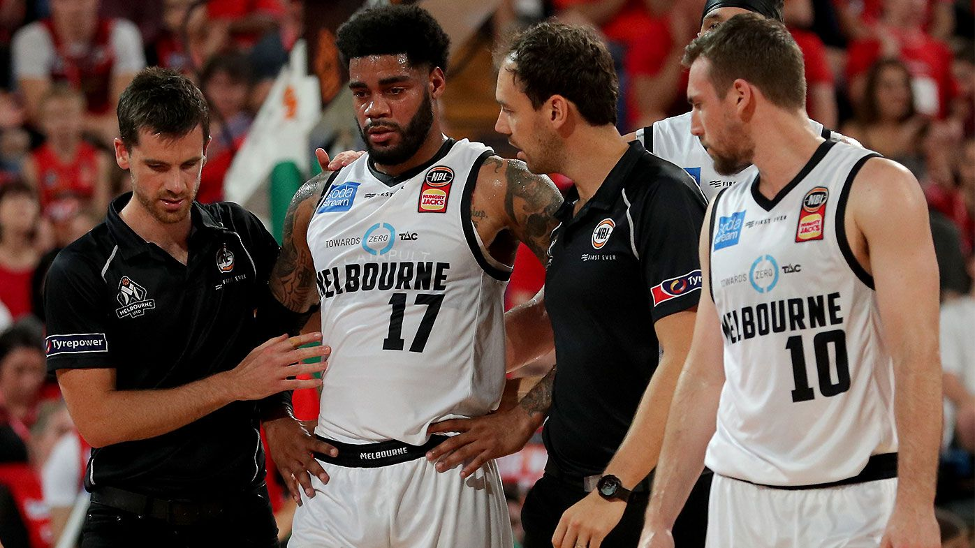 Melbourne United bruised and battered after Game 1 defeat to Perth Wildcats