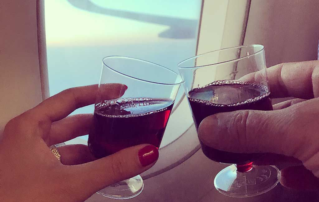 Best wines to drink when flying