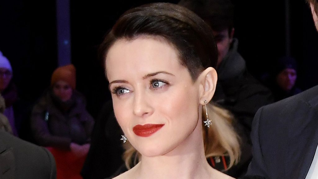 Claire Foy gets a bowl cut