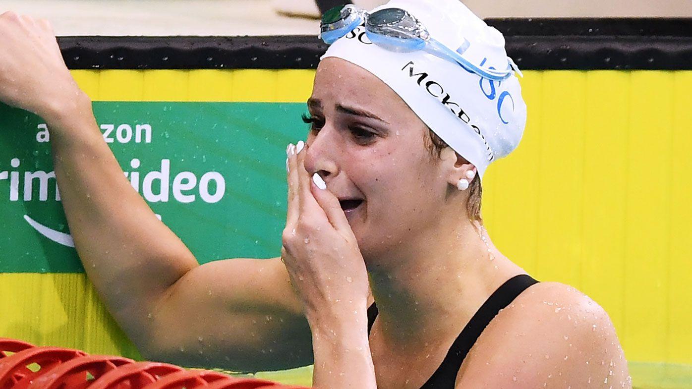 Aussie Kaylee McKeown breaks 100-metre backstroke world record