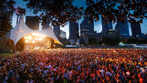 Police arrest record 214 people for drugs at Sydney's Field Day festival