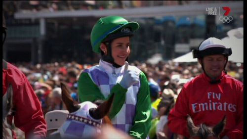 Michelle Payne won the Melbourne Cup in 2015.