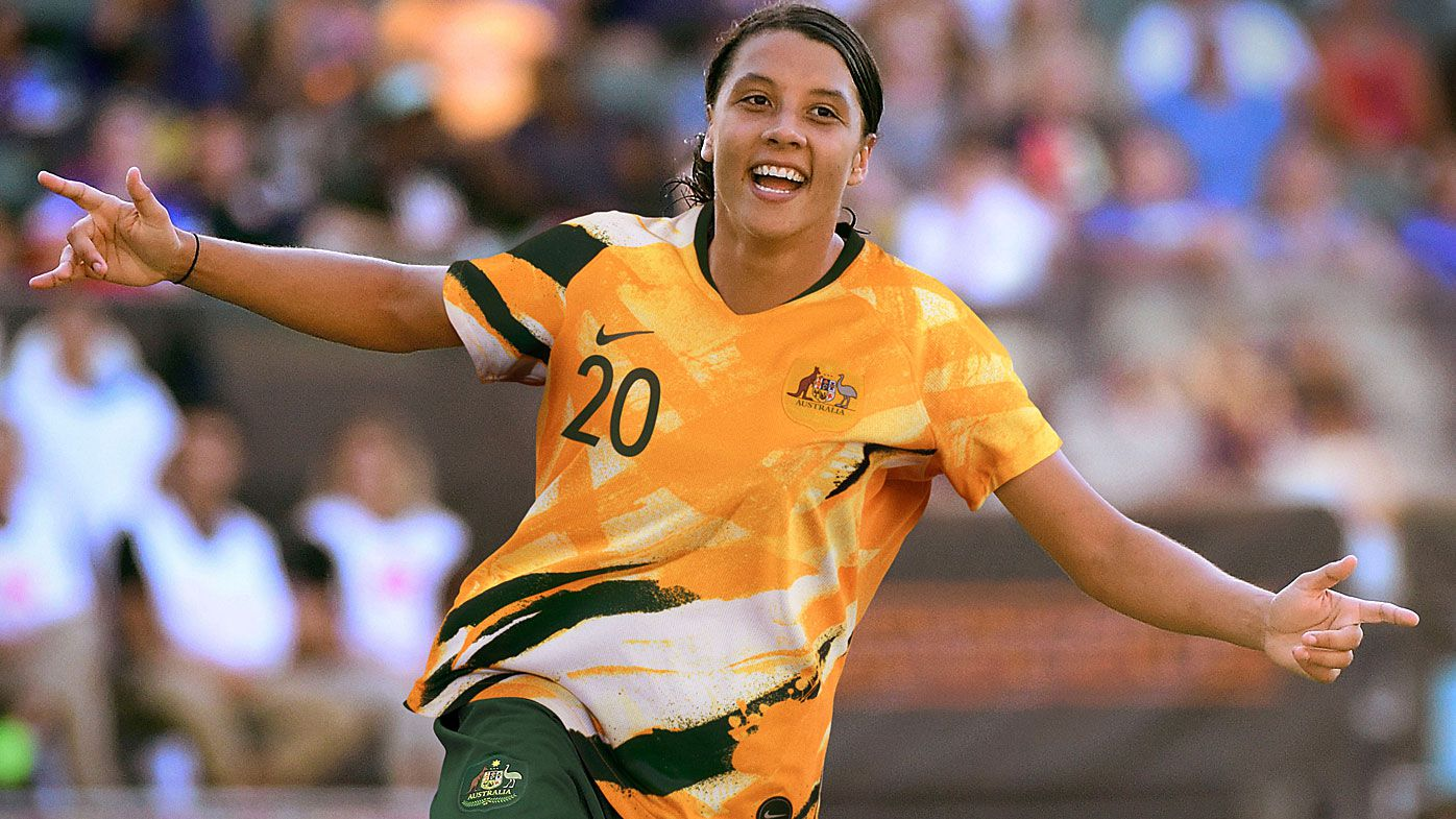 Matildas skipper Sam Kerr takes on Megan Rapinoe for FIFA's best player award