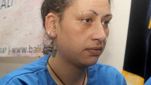 New Zealand woman 'high on ice' paraded in front of media after Bali arrest