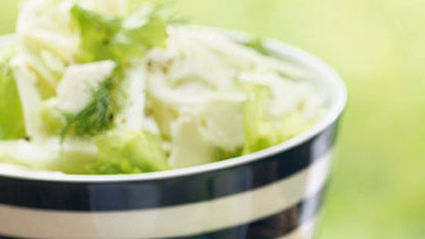 Fennel & celery salad