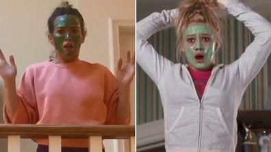 Hilary Duff reprises role in Cheaper by the Dozen reunion video