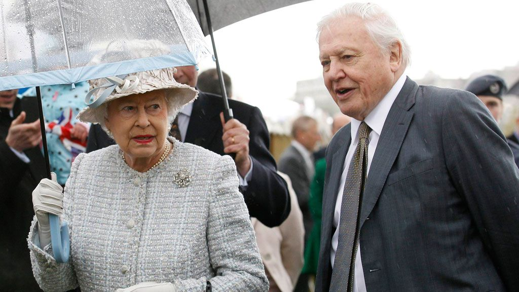 Less plastic in Buckingham Palace: Queen