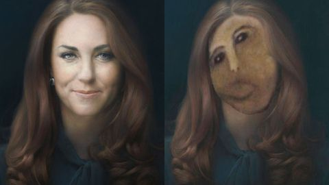 Duchess Kate's 'botched' portrait makeover goes viral
