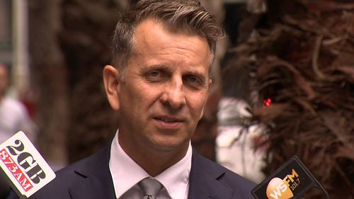 Minister for Roads Andrew Constance.