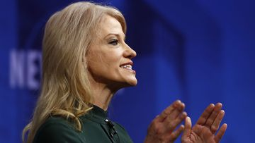 Kellyanne Conway is the first female campaign manager to win a presidential election.