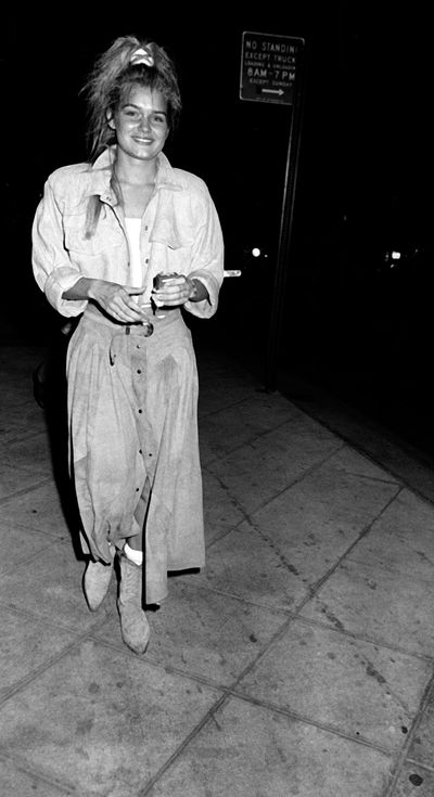 Yolanda Hadid in New York City, 1982