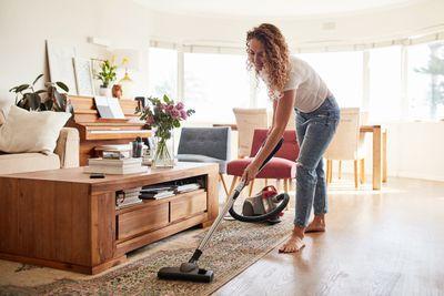 Vacuuming: 170 calories an hour