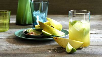 "Recipe:&nbsp;<a href=""http://kitchen.nine.com.au/2016/05/17/14/24/mango-with-lime-and-chilli-salt"" target=""_top"">Mango with lime and chilli salt</a>"