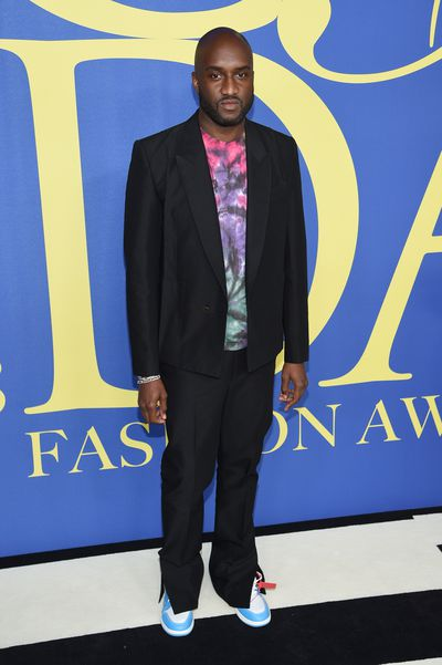Off-white founder and Louis Vuitton Menswear designer Virgil Ablohat the 2018 CFDA Awards