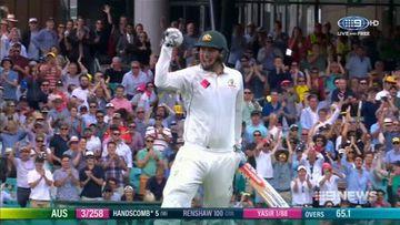 Warner, Renshaw put Pakistan to the sword