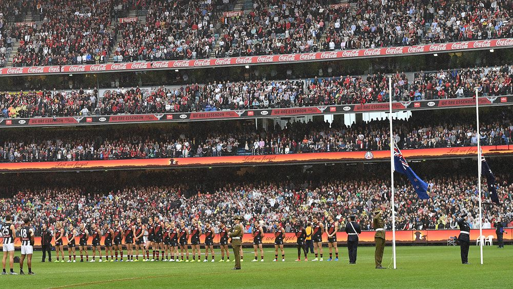 Bombers fans were asked to pay drastically increases prices for the Anzac Day match. (AAP)