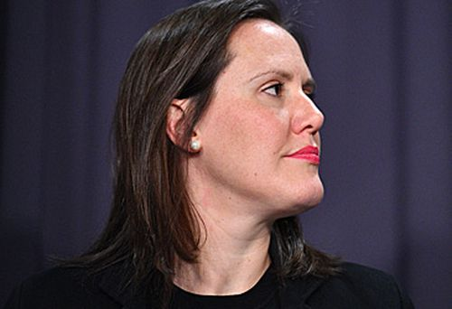 Kelly O'Dwyer refused to concede the government should have called the royal commission sooner.  (AAP)