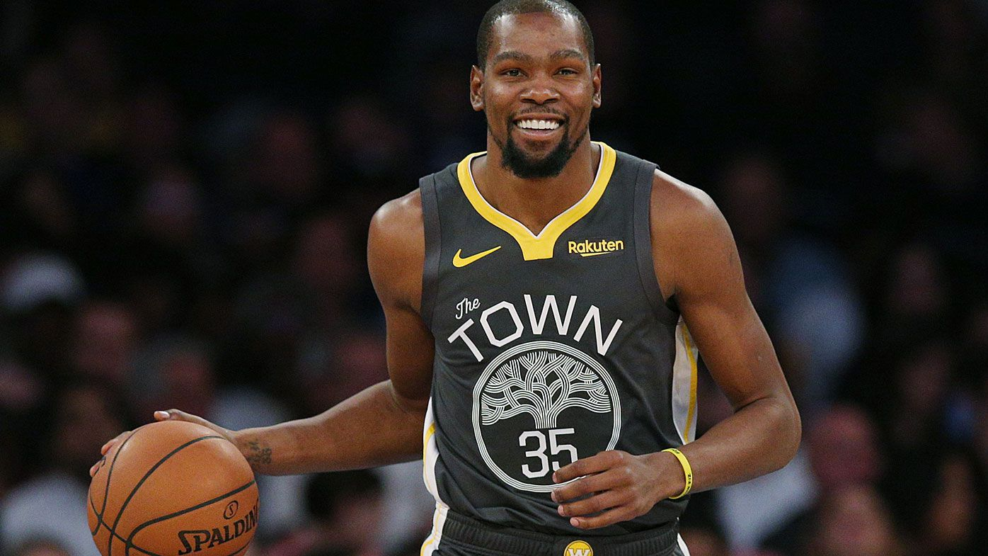Kevin Durant takes aim at 'weak' heckling fans after copping $25k fine from NBA