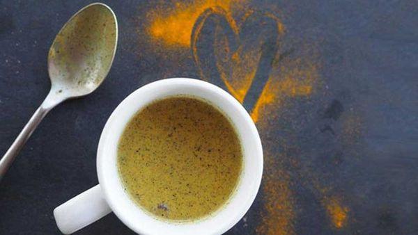 Scott Gooding's turmeric latte