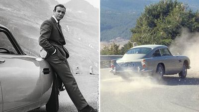Now you can own James Bond's Aston Martin - for a hefty price