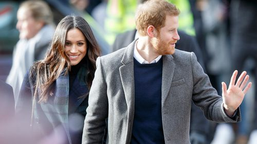 Meghan Markle and Prince Harry are in Scotland. (AAP)