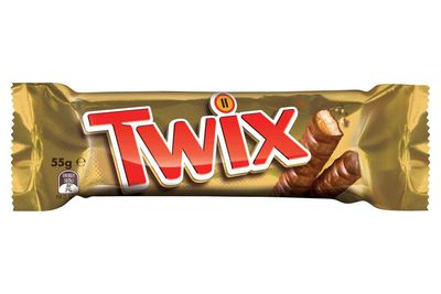 1 and 1/3 Twix fingers are 100 calories