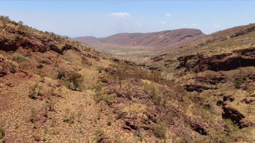Ms Shadbolt was on a routine run on Sunday near Mount Nameless in the Pilbara region when she disappeared.