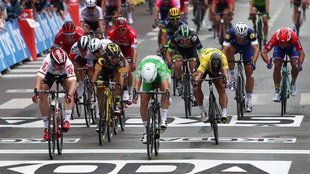 Tour stage like a ride in the park: Sagan