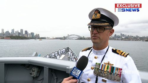 """""""I couldn't be more proud,"""" Commander Marcus Buttler told 9News"""