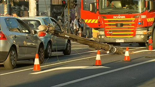 It is believed the driver may have had a medical episode at the wheel. (9NEWS)