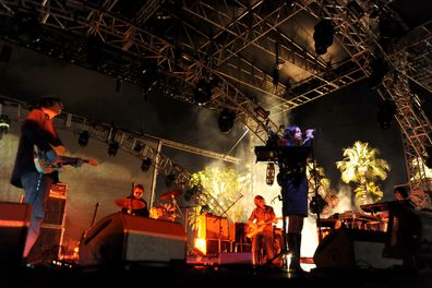 Mazzy Star performs during Day 1 of the 2012 Coachella Valley Music & Arts Festival in 2012.