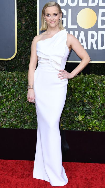 Reese Witherspoon at the 2020 Golden Globes.