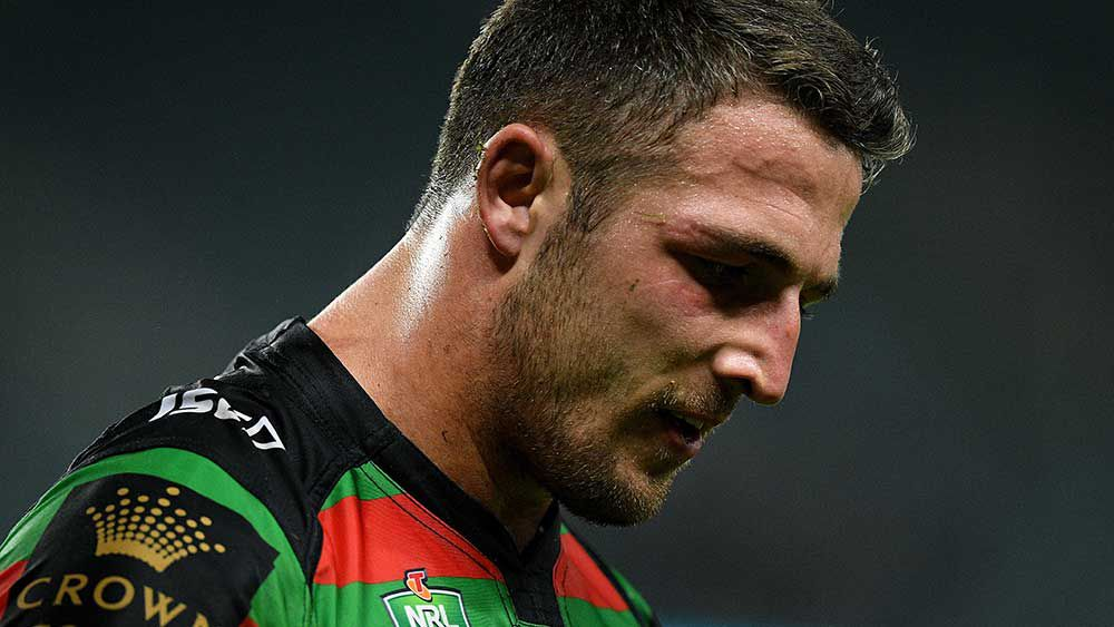 Fears Burgess cracked rib in Souths' loss